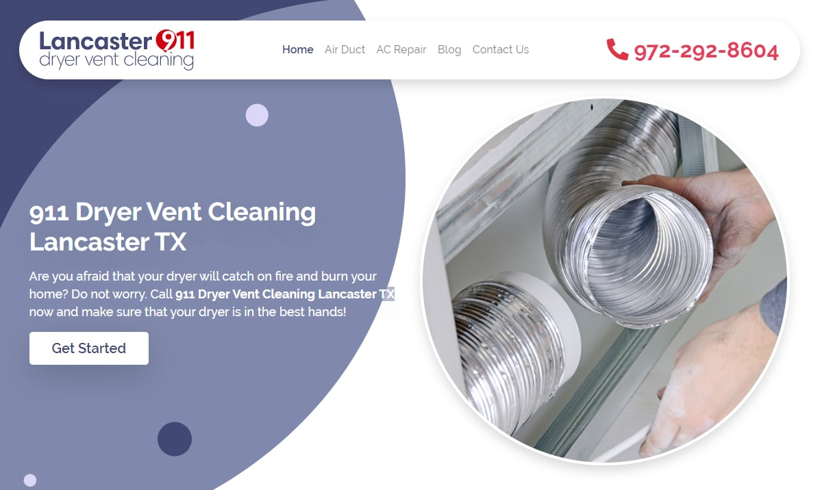 911 Dryer Vent Cleaning Stafford TX: Reduce Energy Bills
